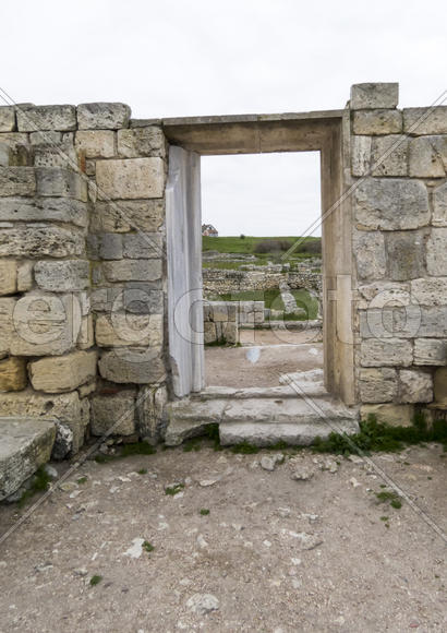 Ancient ruins remind people about last centuries