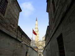 Suleymaniye Mosque, a view from the alley