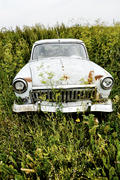 Rusty car Volga
